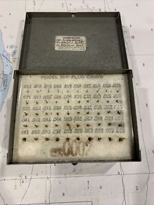 Meyer Gage Makers Model M 0 Minus 011 To 060 Pins Plug Gage Set