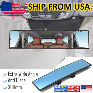 Car Rear View Mirror Packing Rearview Interior Anti Glare Wide Angle Panoramic