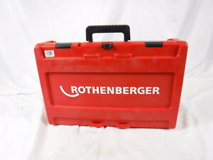 Rothenberger Supertronic 2000 1 2 To 2 Heads Ridgid 300 700 Power Threader