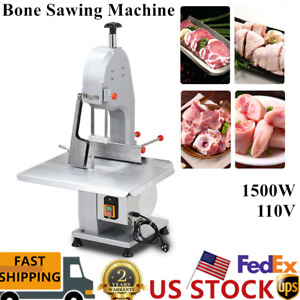 1500w Commercial Electric Meat Bone Saw Frozen Meat Fish Sawing Cutter Machine