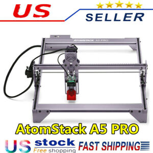 Atomstack A5 Pro 40w 445nm Laser Engraver Machine Diy Printer Engraving Cutter