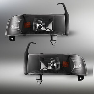 Headlights Corner Tail Lights Smoke Lens 1994 2001 Dodge Ram 1500 2500 3500 Us