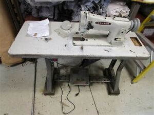 Consew 206rb 5 Industrial Sewing Machine With Servo Motor And Table Upholstery