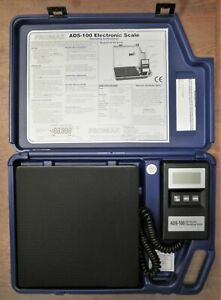 Promax Slimline Electronic Refrigerant Charging Scale Ads 100