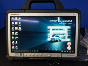 Mercedes Mb Star Xentry Diagnostic System Sdconnect C4 Doip 240gb Ssd 8gb Ram