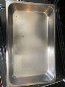 Stainless Steel Buffet Pans used
