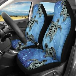 Green Camo Front Auto Seat Full Covers Universal Protector Or Car Truck S