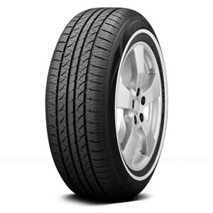 Hankook Set Of 4 Tires P215 75r15 S Optimo H724 W White Wall Fuel Efficient