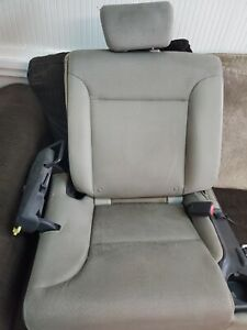 2008 Honda Element Rear Right Seat Second Row Gray black Oem