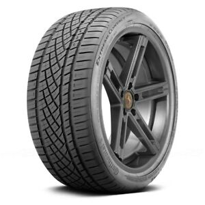 Continental Set Of 4 Tires 235 35zr19 Y Extremecontact Dws06 Performance
