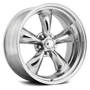 15x10 Vn515 Torq Thrust Ii 1 Pc 5x5 5x127 44 Polished Wheels Rims Set 4