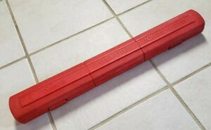 Snap on Qjr3200c 1 2 In Torque Wrench Click Type 30 200 Ft Lbs W case Made In Us