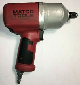 Matco Mt1769a Air Tool 1 2 Impact Wrench Pmax 90 psig 6 2 Bars 9800 Rpm