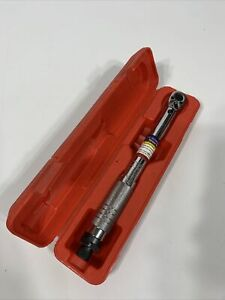 Pittsburgh 2696 1 4 Inch Professional Drive Click Torque Wrench With Case