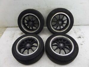 16 Enkei Wheels 4 X 100 114 3 Honda Civic Mazda Toyota Mr2 Corolla Vw