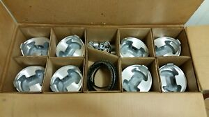 Ross 450 Racing Piston Set 4 602 Bore Chevy Set Of 8 Used W rings As Is