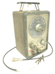 Eico In Circuit Capacitor Tester Model 955 W Tester Wire Tested Working