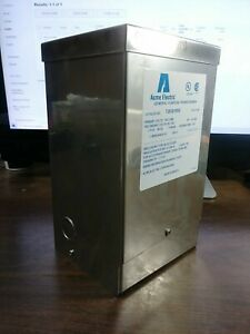 Acme T253010ss Dry Type Distribution Transformer Stainless Steel New In Box