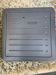 Hid Proxpro Reader 5355 Series 12 Volts Dc Gray Security Access Control Wiegand