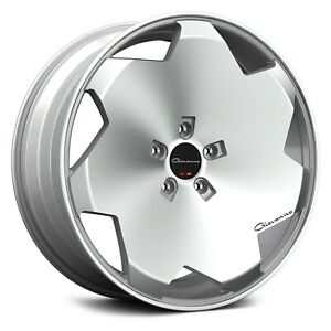 Giovanna Masiss Wheels 24x10 30 6x139 7 78 1 Silver Rims Set Of 4