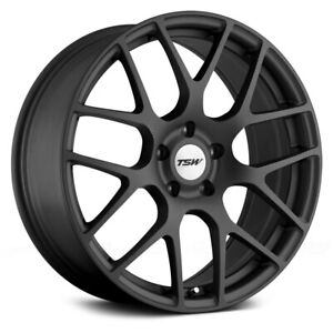Tsw Nurburgring Wheels 22x9 37 5x112 66 56 Gunmetal Rims Set Of 4