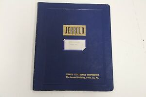 Jerrold Electronics Corporation Marker Generator Model Cm 6 Manual