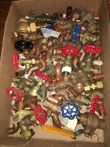 Lot Of 15 Lb Unused 1 2 And 3 4 Copper Plumbing Fittings