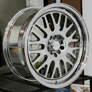 18x11 Xxr 531 5x100 5x114 3 20 Platinum Wheels Rims Set 4