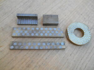 Machinists Magnetic Transfer Block Lot Of 5