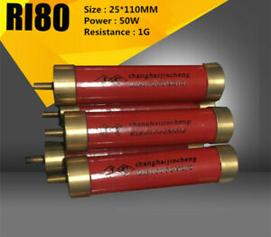 Ri80 50w 1g High Voltage High Frequency Glass Glaze Non inductive Resistance