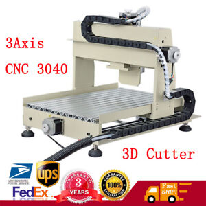 3axis Cnc 3040 Router Engraver 3d Cutter Wood Drilling Milling Engraving Machine