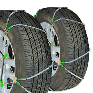 Titan Diagonal Cable Tire Chains Snow Or Ice Covered Roads 10 98mm 255 55 18