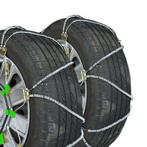Titan Diagonal Cable Tire Chains On Road Snow Ice 9 82mm 255 50 15
