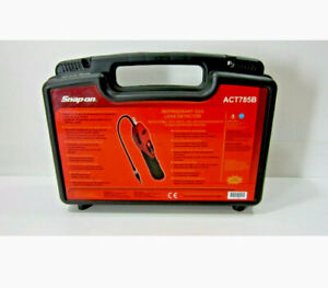 Snap On Act785b Digital Heated Sensor Leak Detector Refrigerant Air Condition