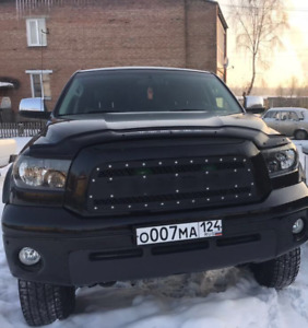 Front Steel Grille Black Polymer Fit For Toyota Tundra 2007 2010 With Lettering