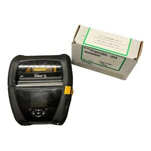Zebra Zq630 Mobile Receipt Printer Bluetooth Zq63 auwa000 00 Battery And Charger