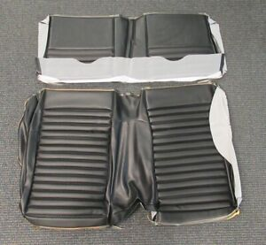 1969 70 Mustang Mach 1 Shelby Sportsroof New Tmi Black Rear Seat Upholstery
