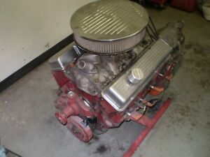 Sbc 5 7l 350 Engine And Turbo 350 From 1973 Chevelle