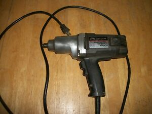 Snap on 1 2 Electric Impact Wrench Et 1550