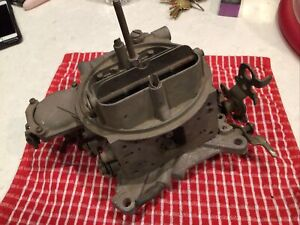 Vtg Holley Carburetor 600 Cfm List 1850 2 1235 Missing Parts