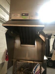 Used Bki Fh 28 Extra Large Vent less Hood