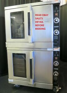 Nice Hobart Natural Gas Double Stack Convection Oven Hgc40 Vulcanhart