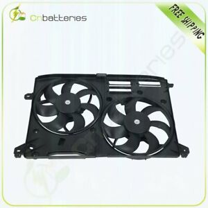 Electric Dual Radiator Cooling Fan Fit For 2015 2017 Ford Edge 2016 Lincoln Mkx
