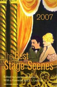 The Best Stage Scenes 2007 Scene Study Series by Lawrence Harbison $9.68
