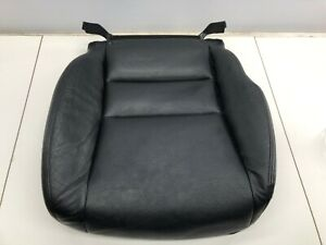 06 08 Acura Tsx Front Right Passenger Side Seat Lower Cushion Leather Black Oem