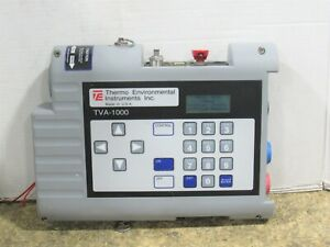 Thermo Environmental Instruments Tva 1000 Fid pid Toxic Vapor Analyzer Detector