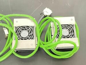 2x New Agilent Fan Assembly For Wells Microplate Block Heater With Extra Parts
