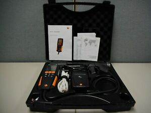 Testo 310 Residential Combustion Flue Gas Analyzer Kit With Printer Case