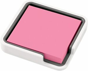 Post it Notes With White Holder 3x3 90 Sheets