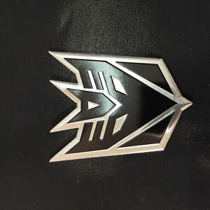 2 Xaluminum Transformers Autobots Decepticon Car Sticker Decal Emblem 2x3inch